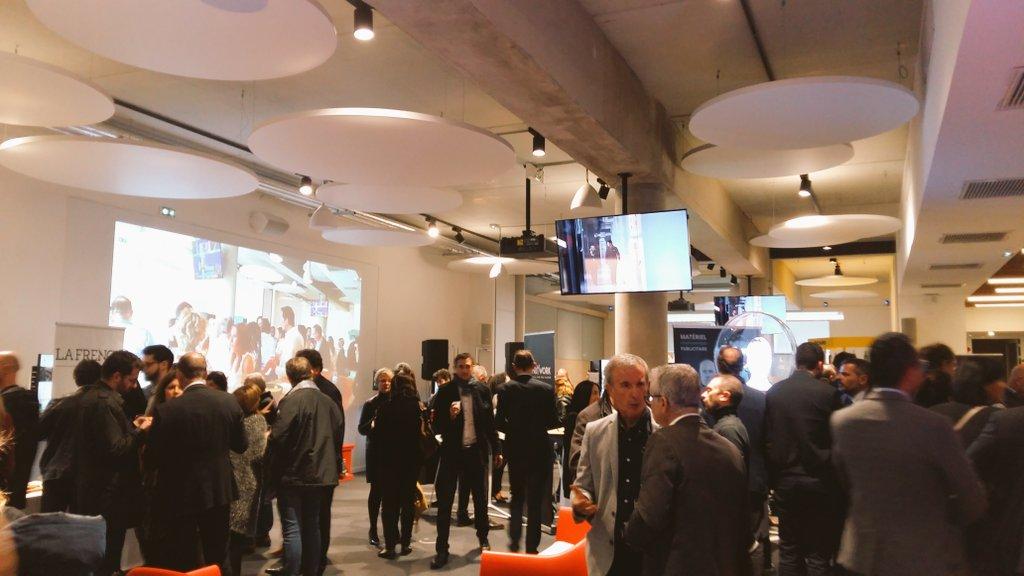 Image for the Tweet beginning: Une belle soirée de #networking