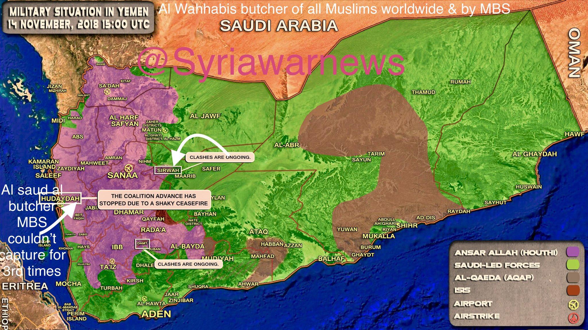 Сводки из Йемена. Наступление на Ходейду остановлено