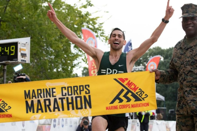 test Twitter Media - Congratulations to Jeffrey Stein '08 on his win of the Marine Corps #Marathon on Oct. 28 with an official time of 2:22:49! https://t.co/qbwhqzrtA7 🏃 🏆  #Running2Win #CardinalPride https://t.co/nBXoebSNZs