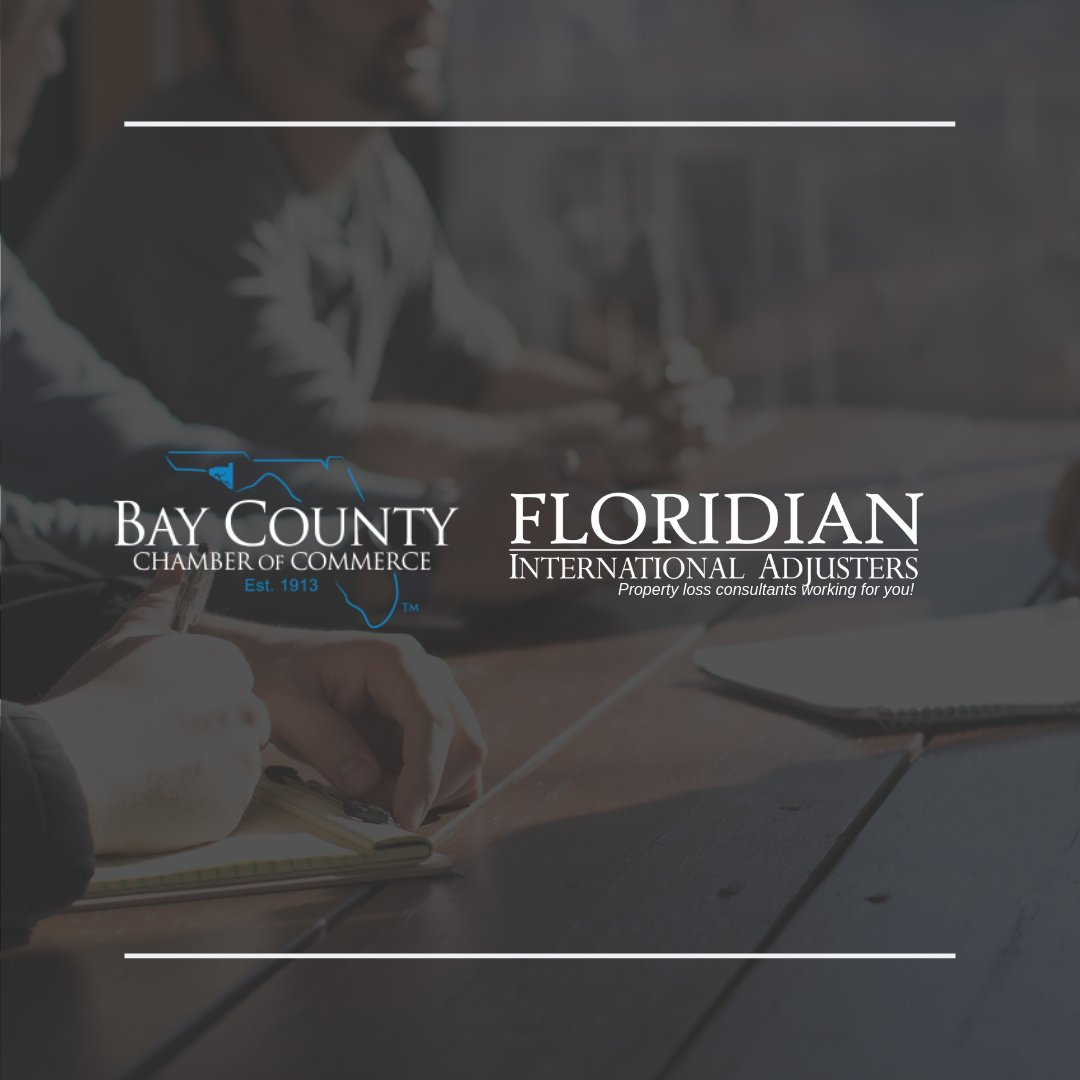 We&#39;re excited to announce that @FloridianPA is a proud member of the Bay County Chamber of Commerce (@baychamberfl)   #PanamaCity #PanamaCityBeach #PublicAdjusters<br>http://pic.twitter.com/TrJsORLgvW