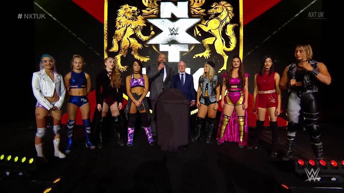 Triple H Officially Reveals WWE NXT UK Women's Title, Tournament To Finally Air (Photos, Videos)