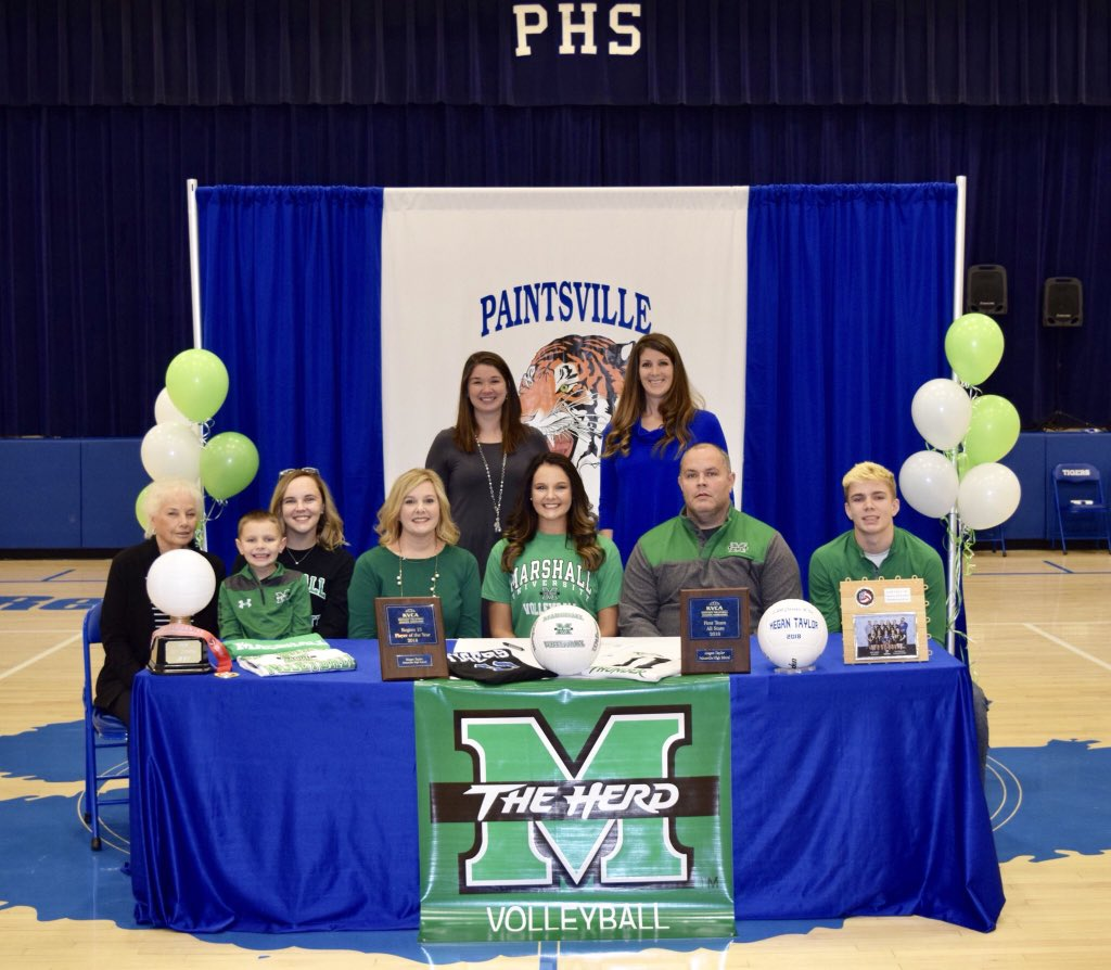 It's official!! So blessed to be continuing my athletic and academic career at Marshall University!💚🏐 #MUVB #GoHerd @HerdVolleyball @HerdNation