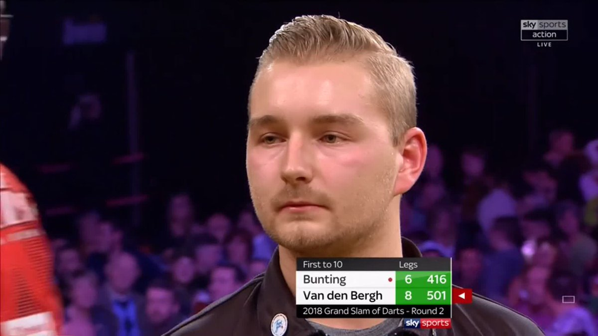 Rare Grand Slam of Darts feat produces absolutely electric play-by-play call