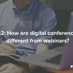 Q2: Webinar or digital conference? You tell us! #SproutChat