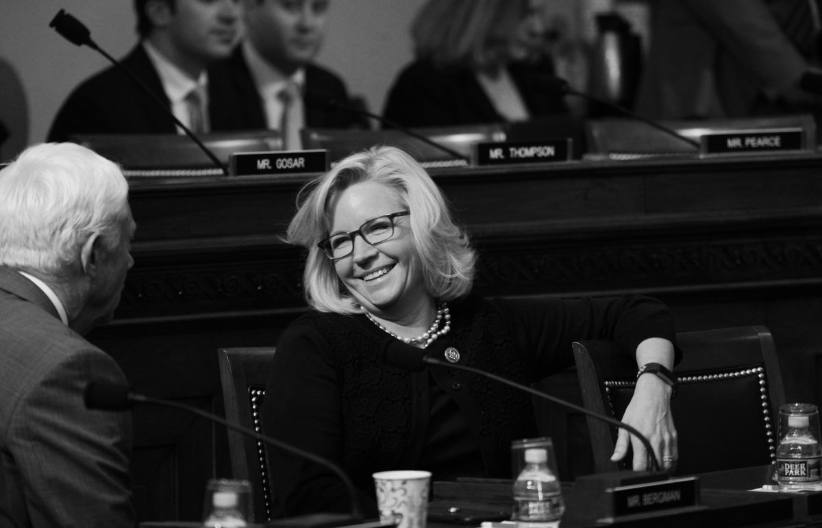Congratulations to @NatResources member, @RepLizCheney on her election as @HouseGOP Conference Chair.