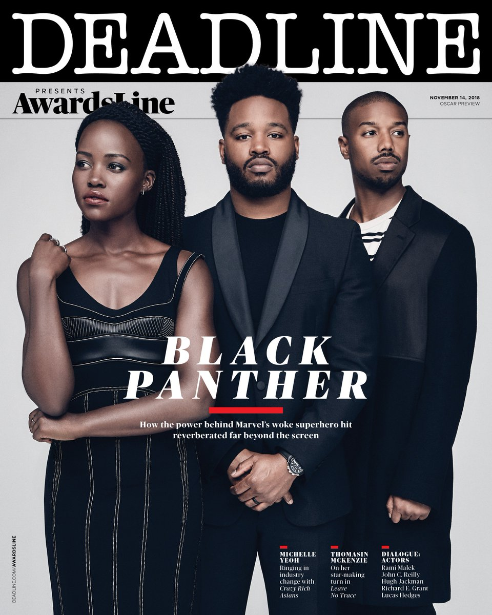 For your consideration. 🙅🏿‍♀️🙅🏿‍♀️ #BlackPanther @DEADLINE #AwardsLine
