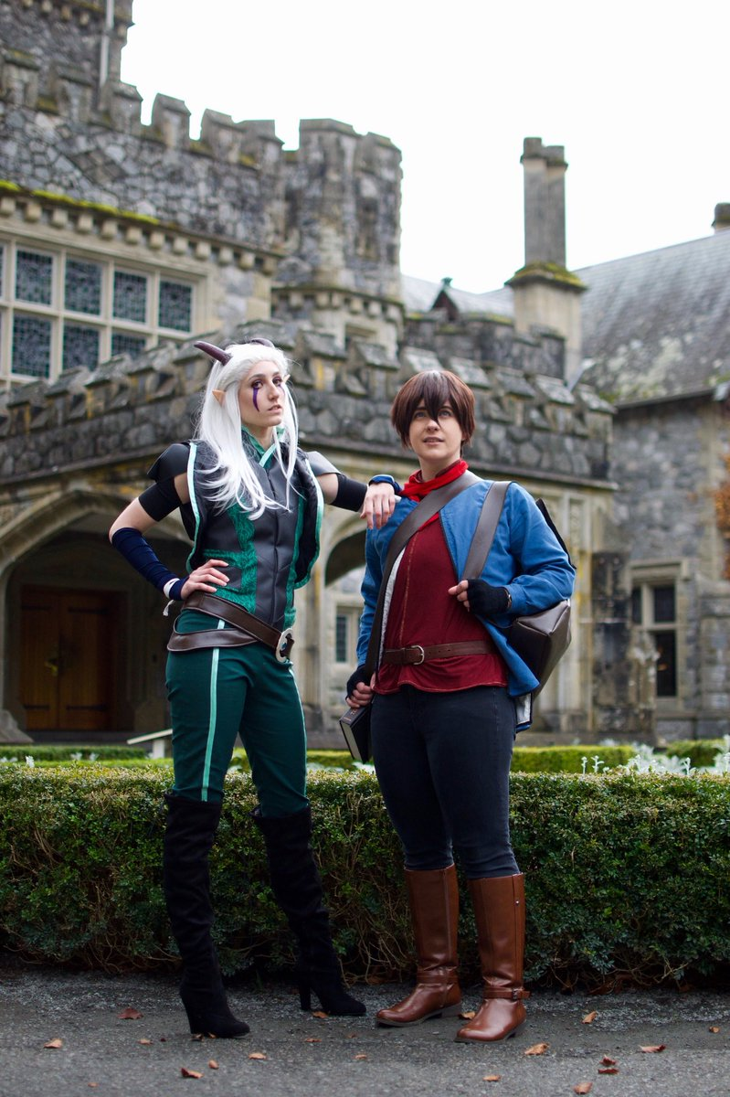 Seeing all @thedragonprince interviews on heruniverse made me want to post another pic! - the_anyapanda #thedragonprince #thedragonprincecosplay #rayla #callum #raylacosplay #callumcosplay #tdp #tdpcosplay #elfcosplay #netflixcosplay<br>http://pic.twitter.com/KnCEYJWr6C