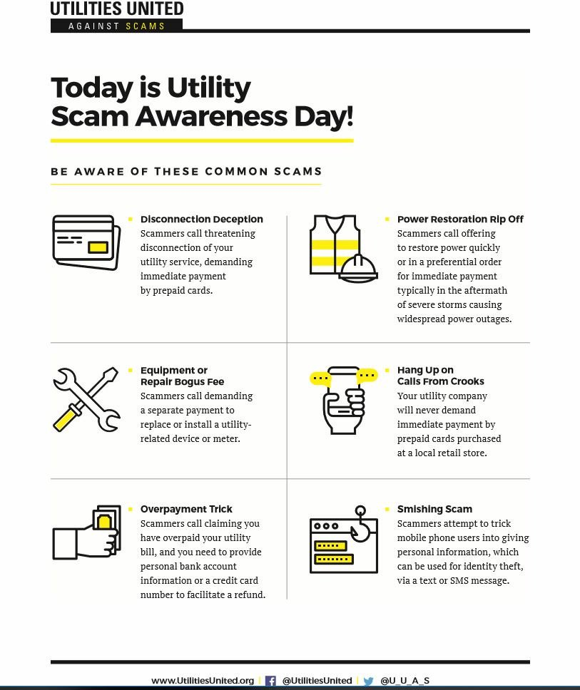 Centerpoint Phone Number >> Centerpoint Energy On Twitter Today Is Utility Scam Awareness Day
