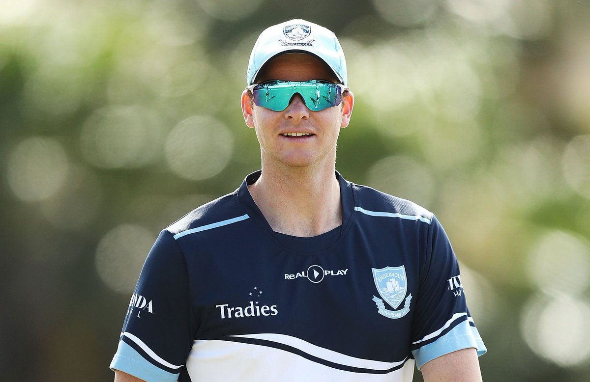 Steve Smith has used his time away from the top level to add to his already extraordinary repertoire  https://www. cricket.com.au/news/mitchell- starc-steve-smith-leg-spinners-bowling-nsw-blues-premier-cricket-ban-world-cup/2018-11-14 &nbsp; … <br>http://pic.twitter.com/1NuoyPTF2E