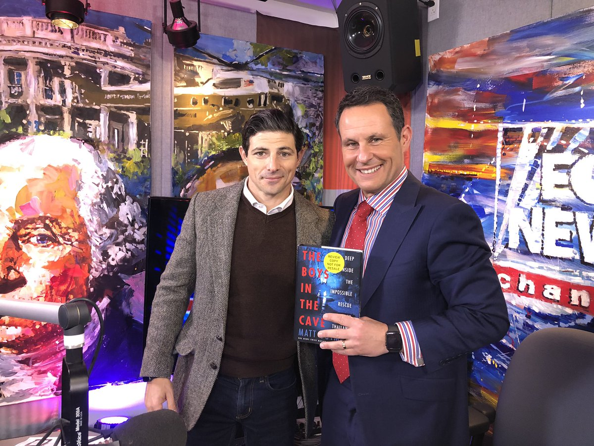 Thanks @mattgutmanABC for coming on radio to talk about your incredible new book!  If you missed him, you can check out the interview here—> https://t.co/m1A9mr7wKx