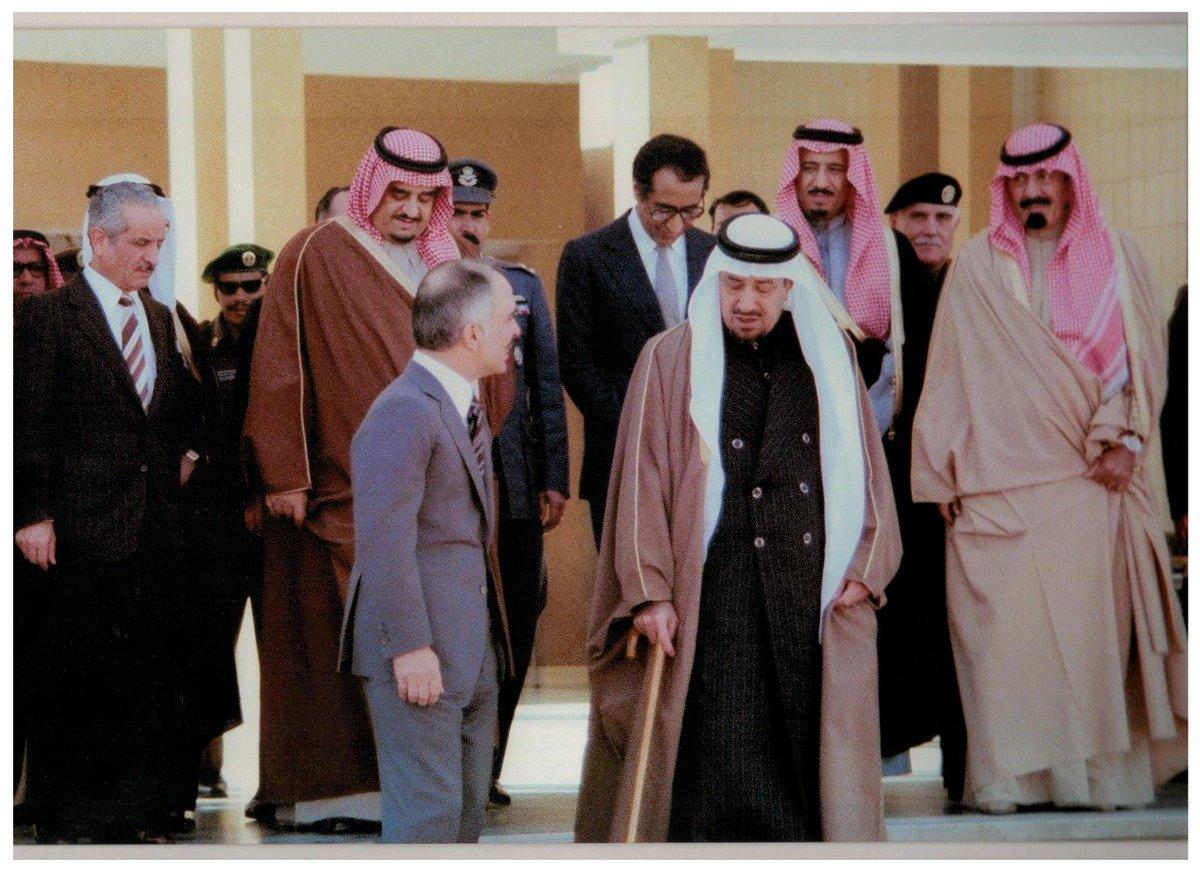 صورة تجمع خمس ملوك.. من #السعودية
