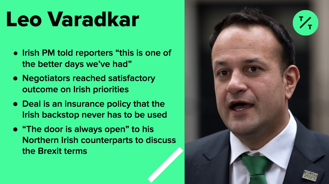 Here's what the Irish PM thinks about the EU and U.K. reaching an agreement on Brexit
