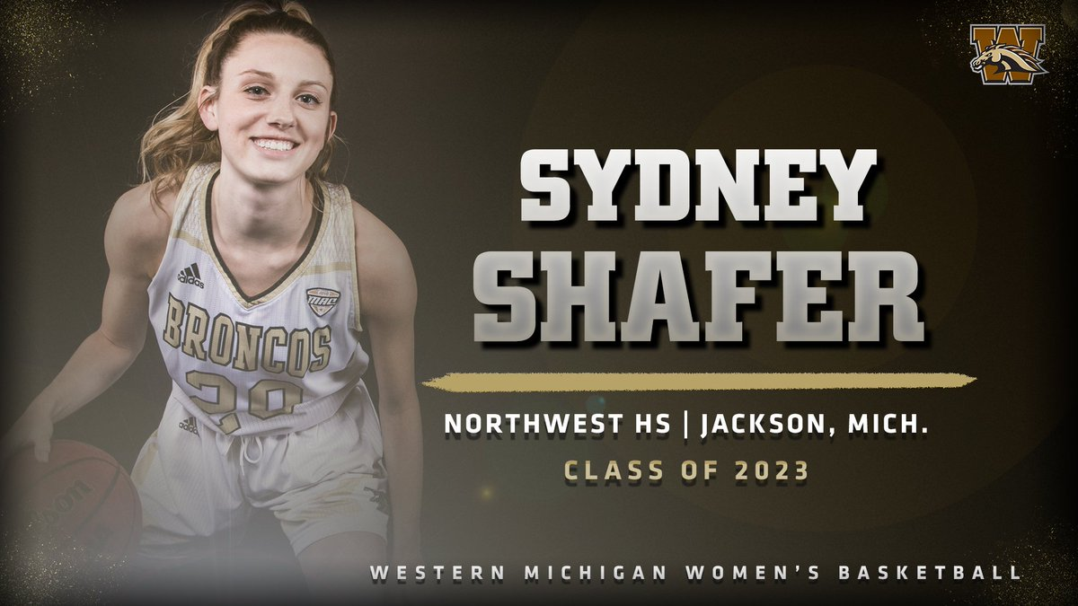 Welcome to the family Sydney Shafer!   A guard from Jackson, Mich., Sydney was named Conference MVP, JTV Sports Player of the Year, and MLive Jackson Citizen Patriot Dream Team Player of the Year, to name a few of many awards last season at Northwest HS.   #WeWillReign<br>http://pic.twitter.com/dCnKp2jKOl