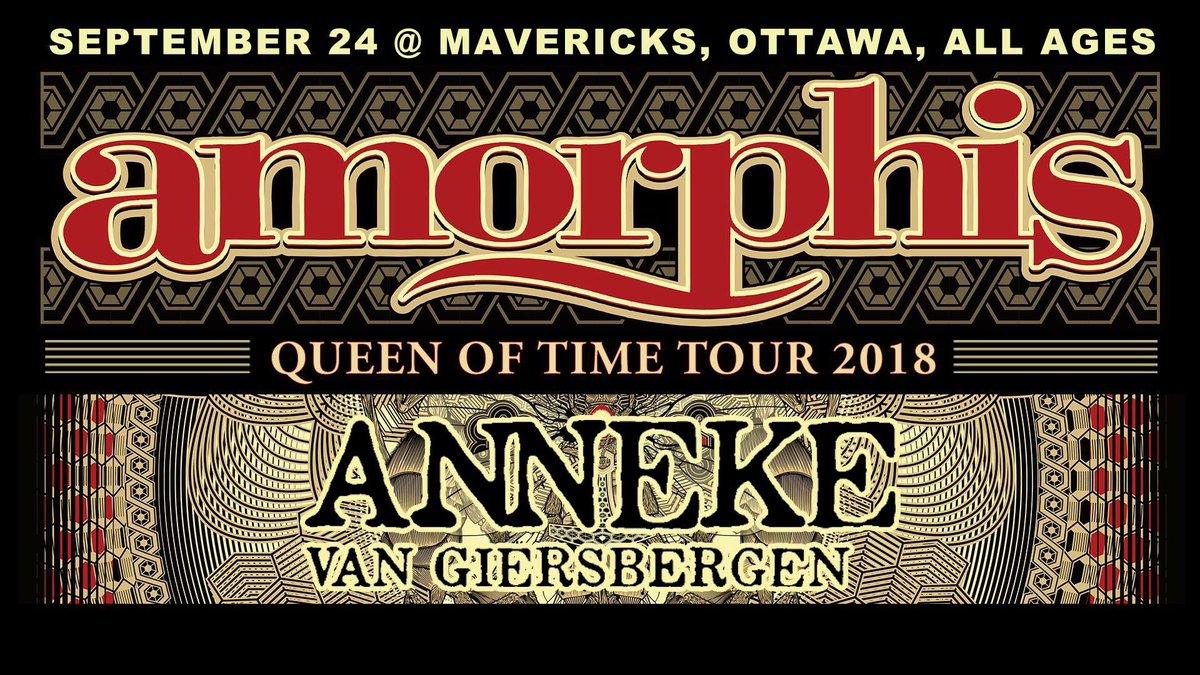 RT @OttawaMetal: Sept 24 - @amorphis @AnnekeAnnique @mavericksbar tickets at https://t.co/r9aw7ZQylL https://t.co/TmJTZeVZY4