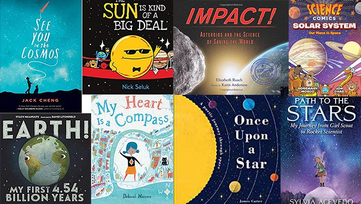 Welcome to my 10th annual list of recommended space books for kids! Fiction, nonfiction, biography; poetry, prose, and pictures; it's all here. https://t.co/Vp08nguZfu