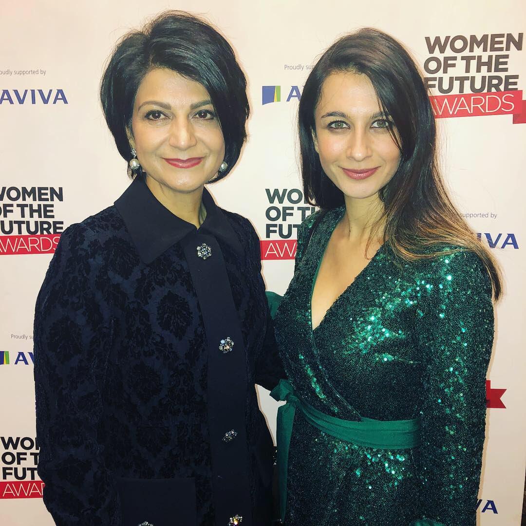 Wonderful evening with wonderful women #WomenOfTheFuture @womenoffuture