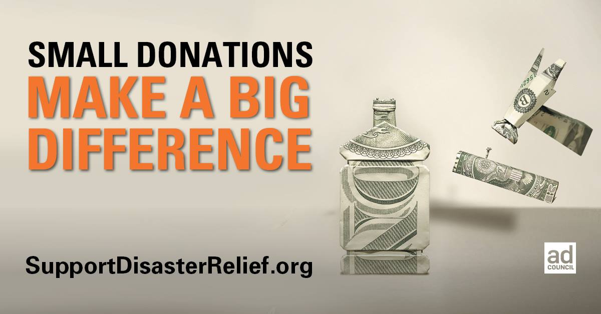 With a donation of any size, you can help California in the wake of devastating wildfires: SupportDisasterRelief.org