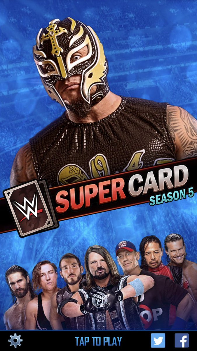SEASON 5 UPDATE #WWESUPERCARD twitch.tv/tonypizzaguy