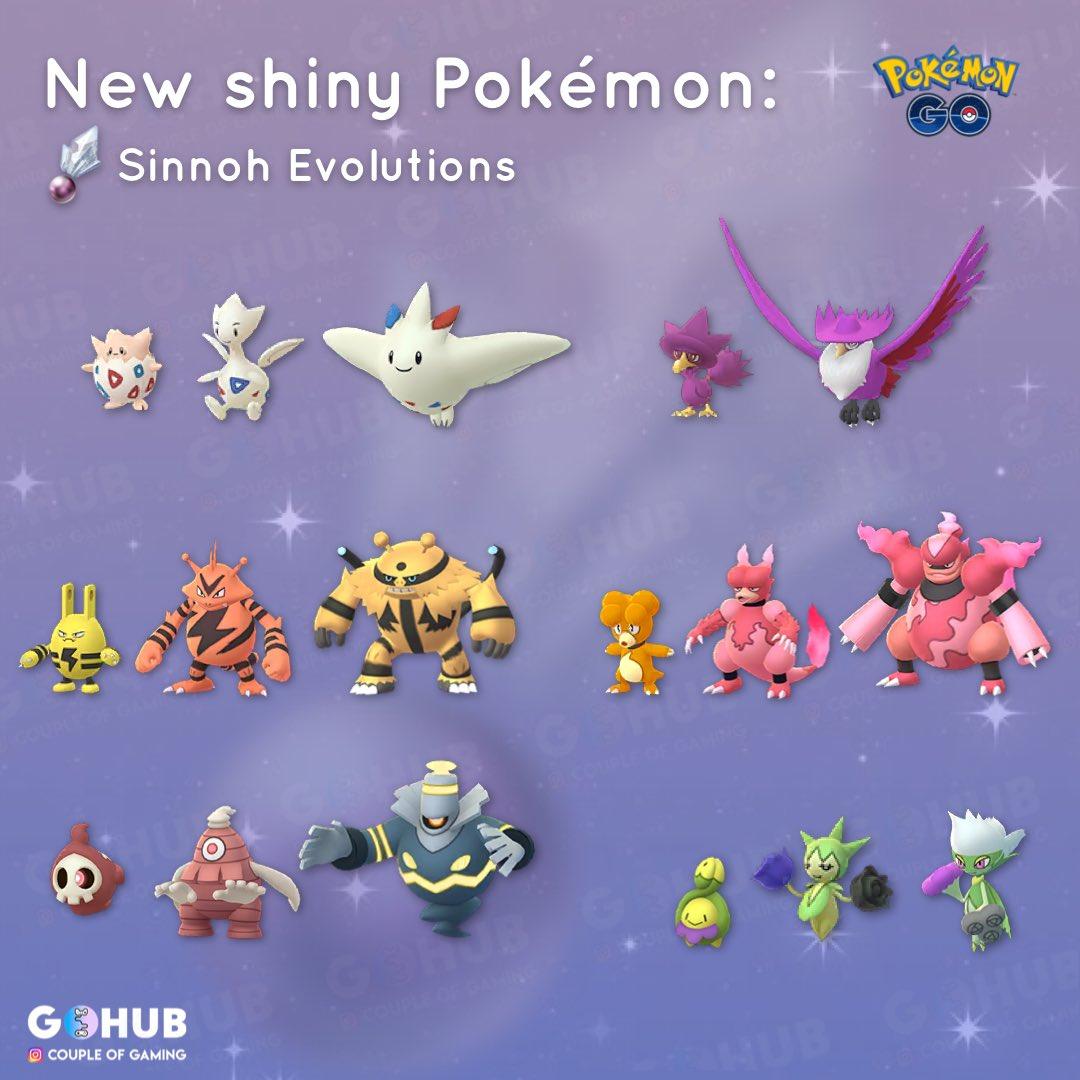 sinnoh stone best evolution