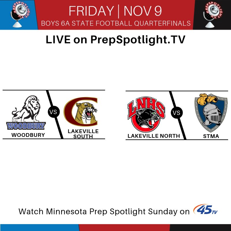 Minnesota Prep Spotlight On Twitter Tune In Friday For 6a State