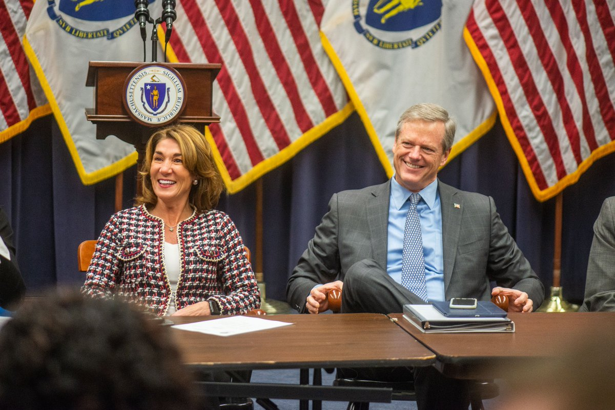 Today We Got Right Back To Work With Our Staff And Cabinet On Next Steps To  Continue Making MA The Best Place To Live, Work And Raise A ...