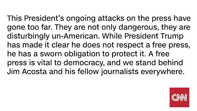 CNN's response to @realDonaldTrump's press conference today: