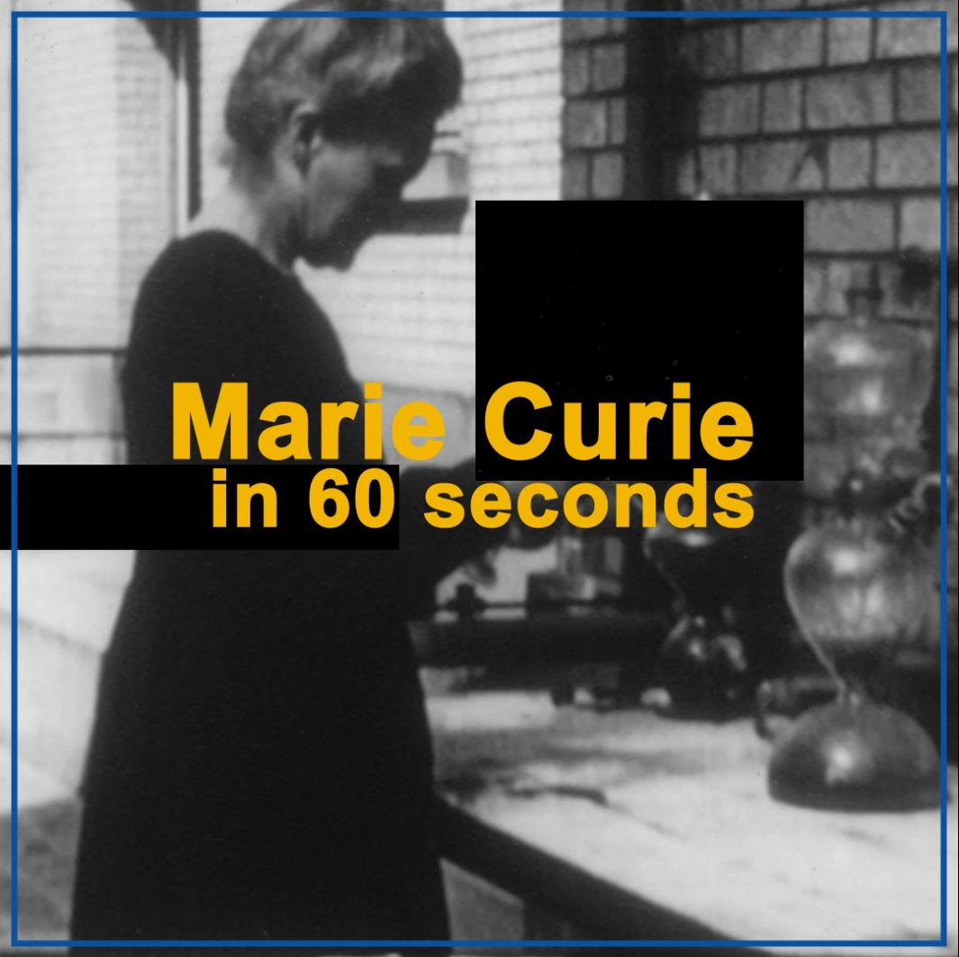 International Atomic Energy Agency's photo on marie curie