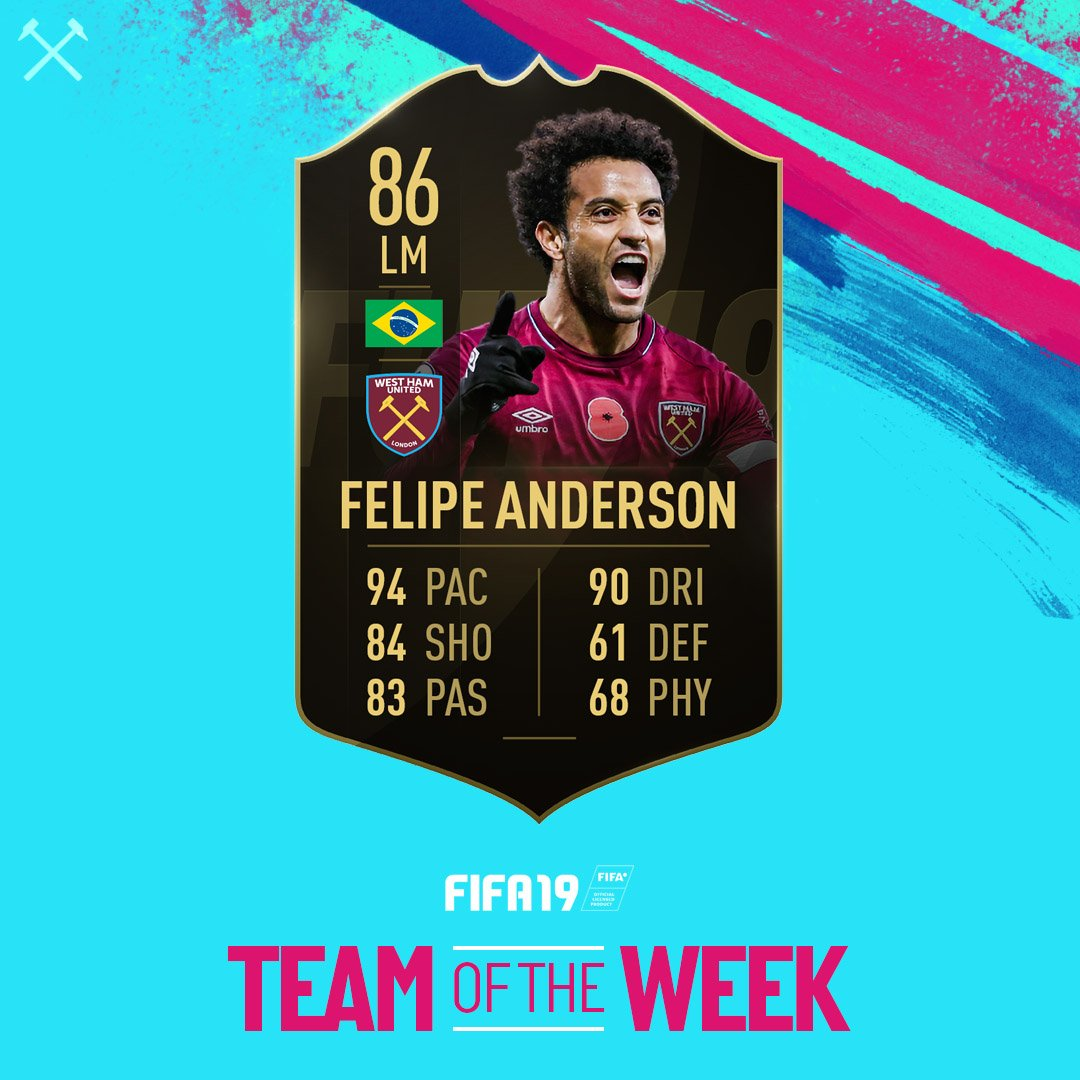 Another @EASPORTSFIFA TOTW card for @F_Andersoon 🔥🔥