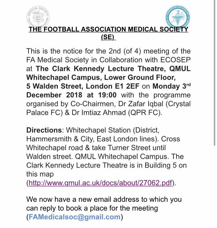 FA Medical Society on Twitter: