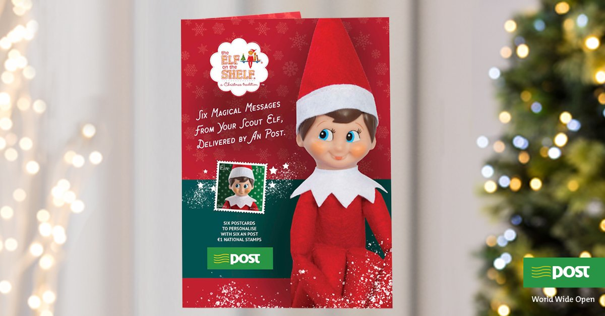 An Post On Twitter Scout The Elf And Have Put Together