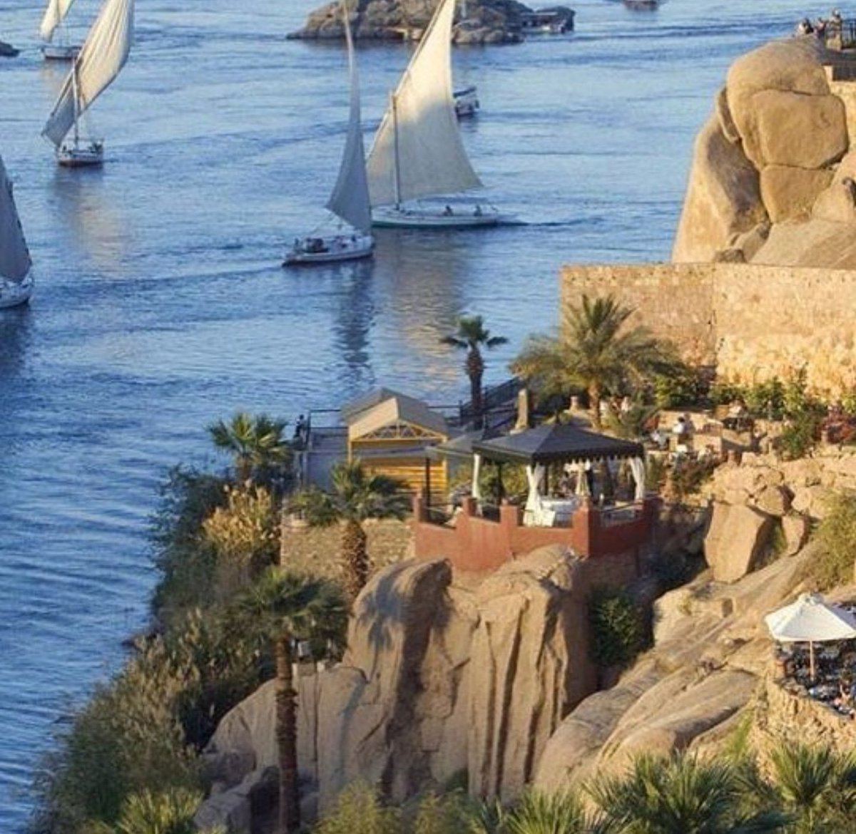 Beyond the grace of the granite barriers, often claimed to be the point at which civilization ends, a whole new world of wonder awaits along the immortal Nile.📸@waleed_kamal_aswan #SofitelWorld #LiveLikeLegends https://t.co/g4IONTmlNW