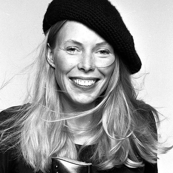Happy 75th birthday to a Canadian musical legend, Joni Mitchell