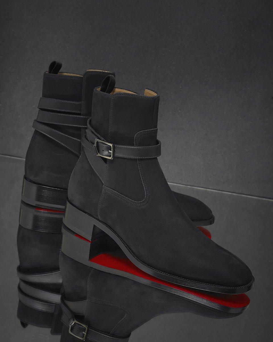 Christian Louboutin Kicko Jodhpur Boots