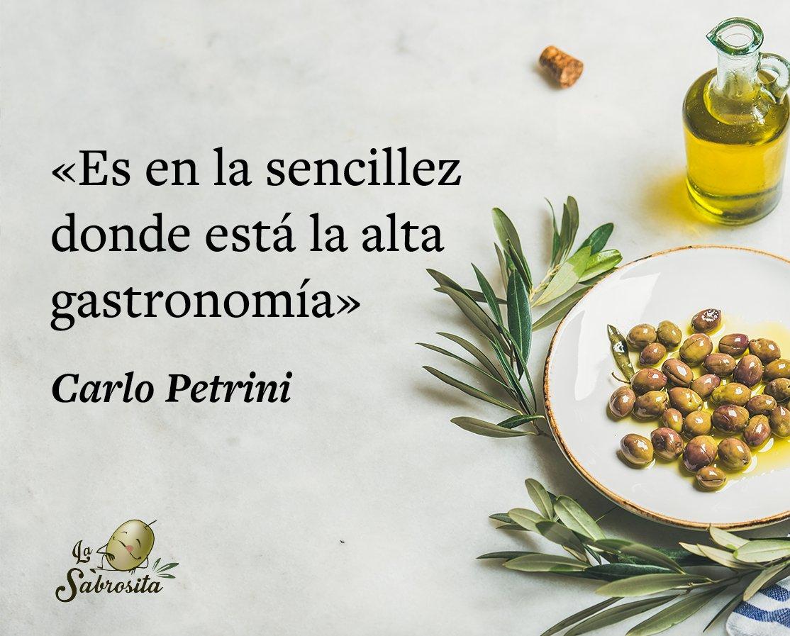 Aceitunaslasabrosita בטוויטר Carlo Petrini Fundador Del