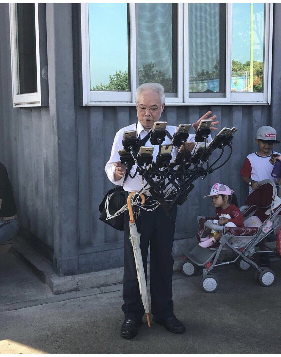 This Taiwanese grandfather might be the most dedicated 'Pokémon Go' player out there https://t.co/keSSFFBhn0
