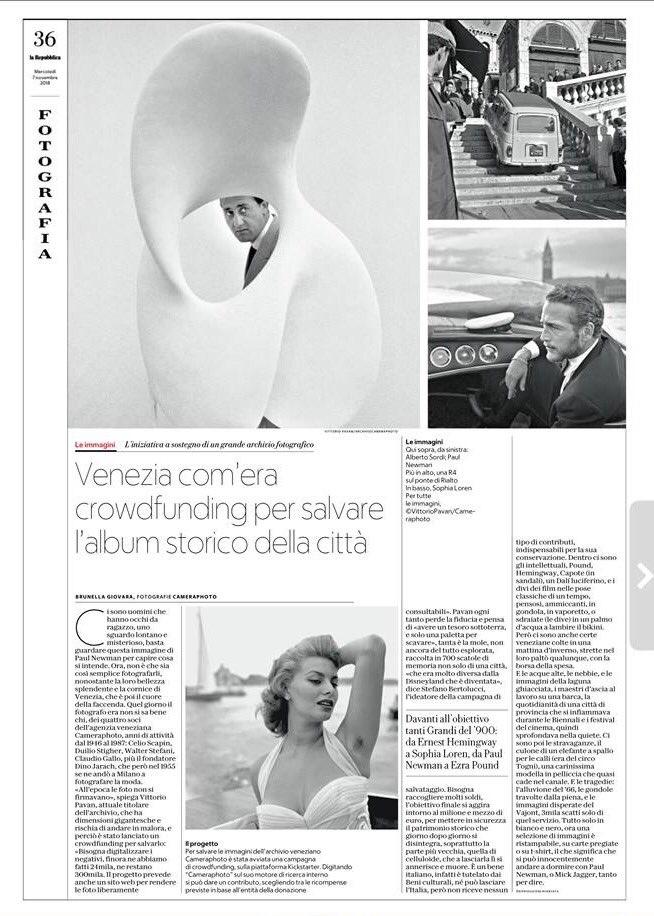 Il Quotidiano At Repubblica Di Oggi Dedica Unintera Pagina Alla