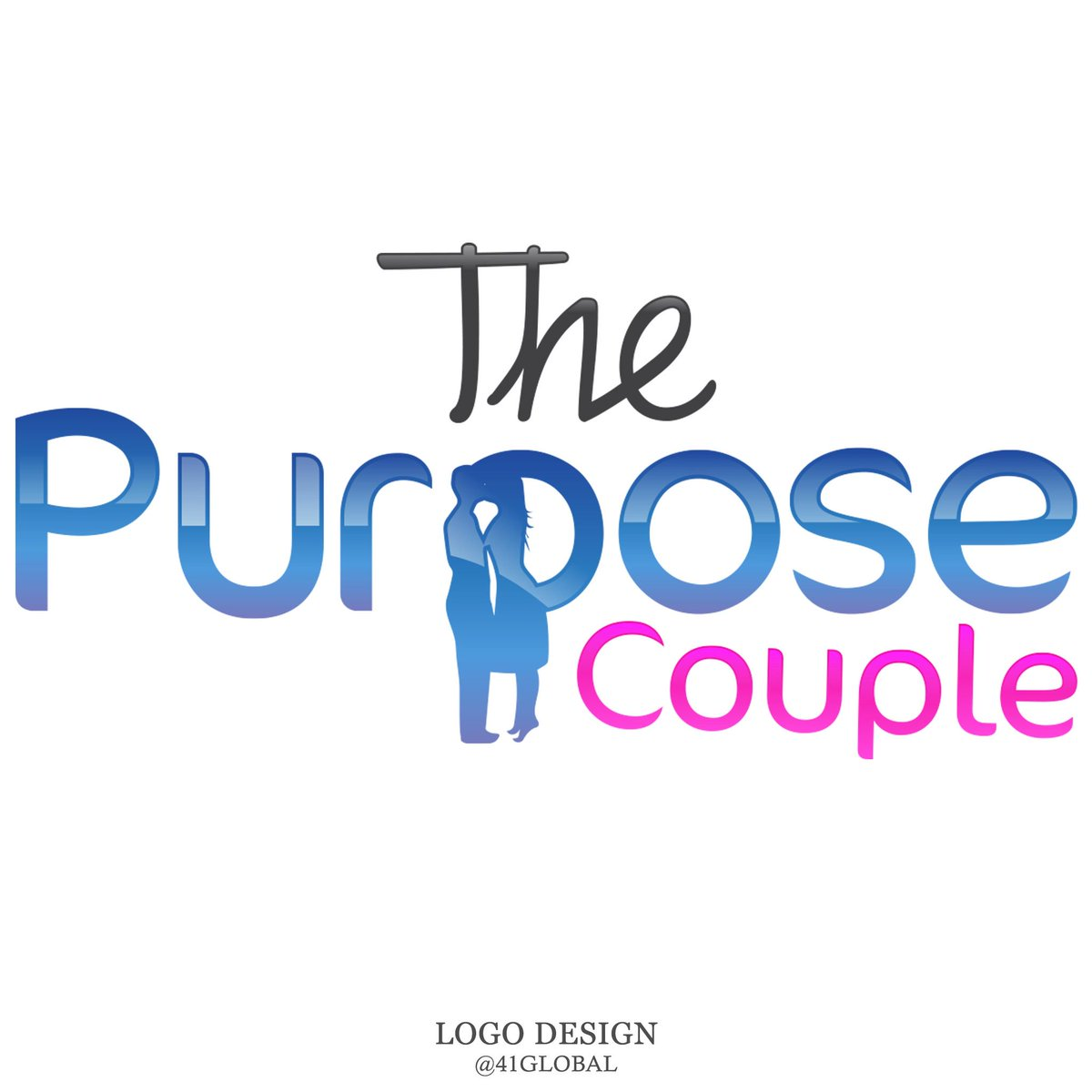 New Logo Design for The Purpose Couple ⠀ #41Global #logo #purposecouple #logos #photoshop #customlogo #branding