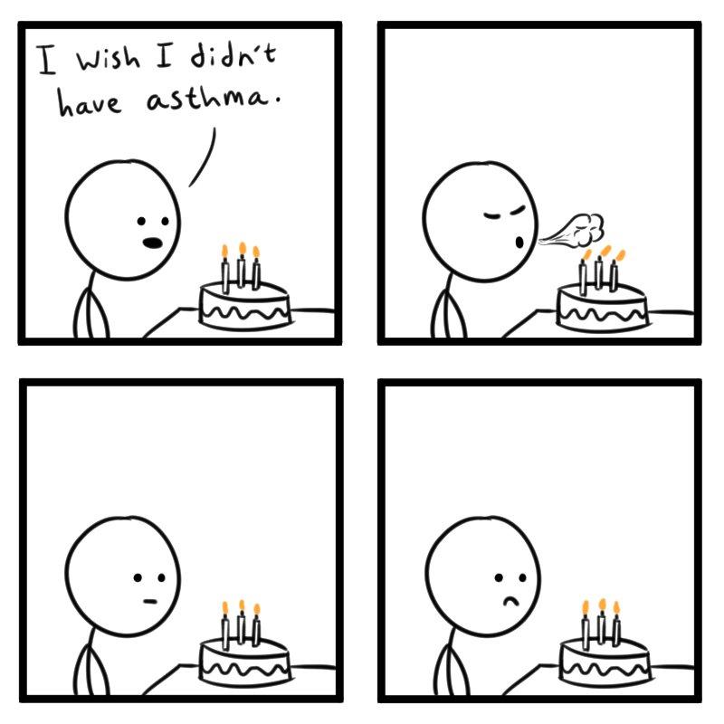 @tomjohnson65444: Birthday Wish #comic #comics #webcomic #webcomics #comicstrip #comicstrips #funny #cake https://t.co/ipKjVtRbdQ