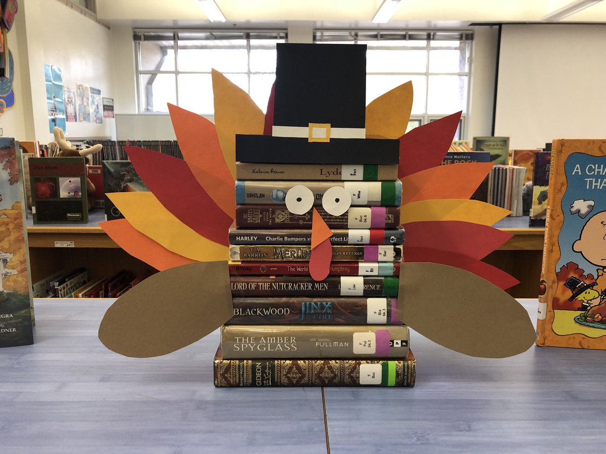 RT <a target='_blank' href='http://twitter.com/ChrissyFrantz'>@ChrissyFrantz</a>: What's the key to a great library display? A tur-key! 🦃📚 <a target='_blank' href='http://twitter.com/GlebeAPS'>@GlebeAPS</a> <a target='_blank' href='http://twitter.com/GlebeLibrary'>@GlebeLibrary</a> <a target='_blank' href='http://twitter.com/APSLibrarians'>@APSLibrarians</a> <a target='_blank' href='https://t.co/CS4SkS7iNw'>https://t.co/CS4SkS7iNw</a>