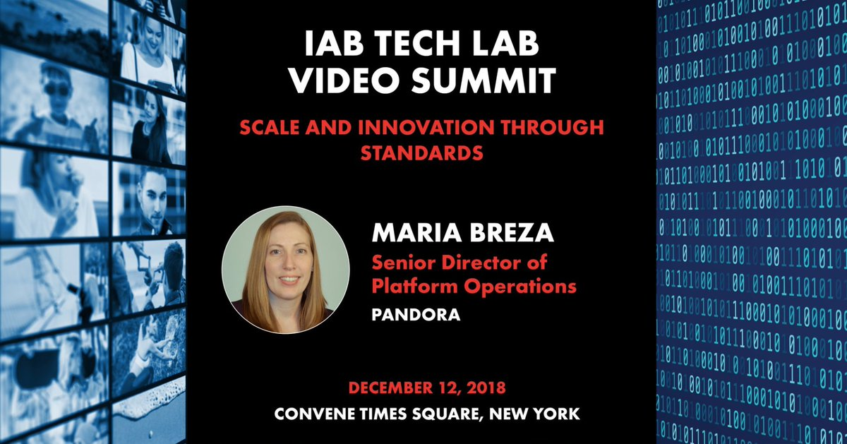So excited to have our Sr. Director of Platform Operations speak at the one and only @IABTechLab Video Summit in December. Learn more here: https://t.co/eGFUhlteqQ #TechLabVideoSummit