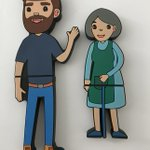 Image for the Tweet beginning: Simple yet charming USBs for