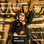 Image for the Tweet beginning: Evening Grinlets @WhatsOnStage awards are