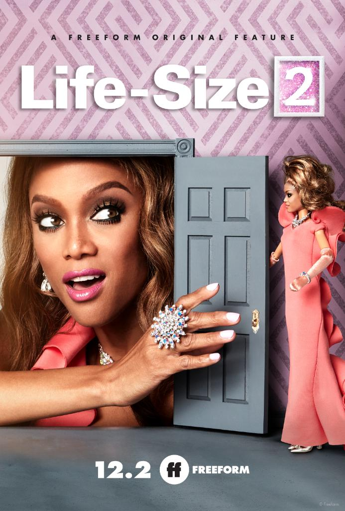 Your favorite doll is back! #LifeSize2 premieres Sunday, December 2 during @FreeformTV's @25Days of Christmas.