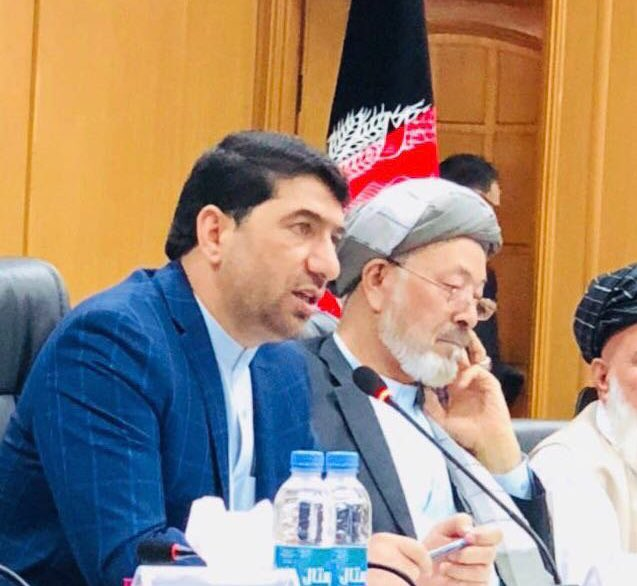 1/2- Dr @KhpalwakAkram CEO Secretariat for Peace Process & President's Special Envoy in Political Affairs resigned from his positions today. President @ashrafghani accepted his resignation in the cabinet meeting today and praised him for successfully managing the Peace efforts.