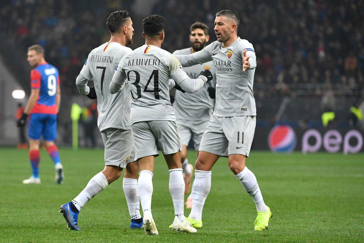 Video: CSKA Moskva vs AS Roma