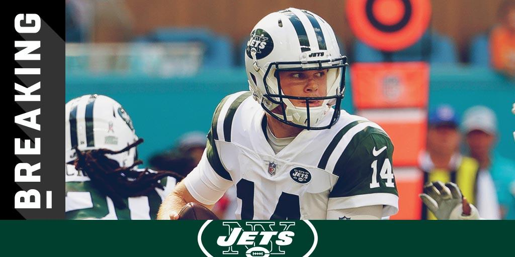 Sam Darnold to miss Bills game with foot sprain: https://t.co/XeNzI3cgoq (via @RapSheet) https://t.co/yiNqTUxADu