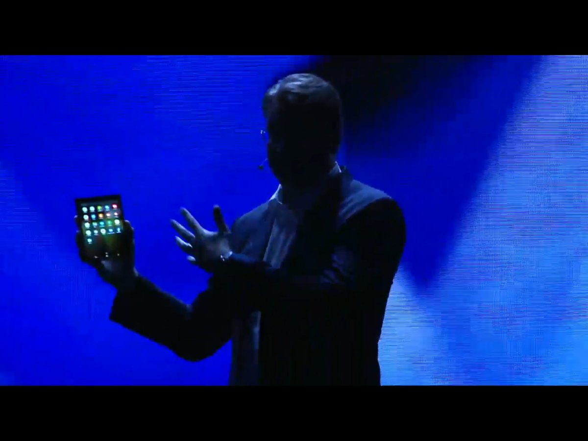 Samsung Shows Off Its Foldable Smartphone with 'Infinity Flex Display'