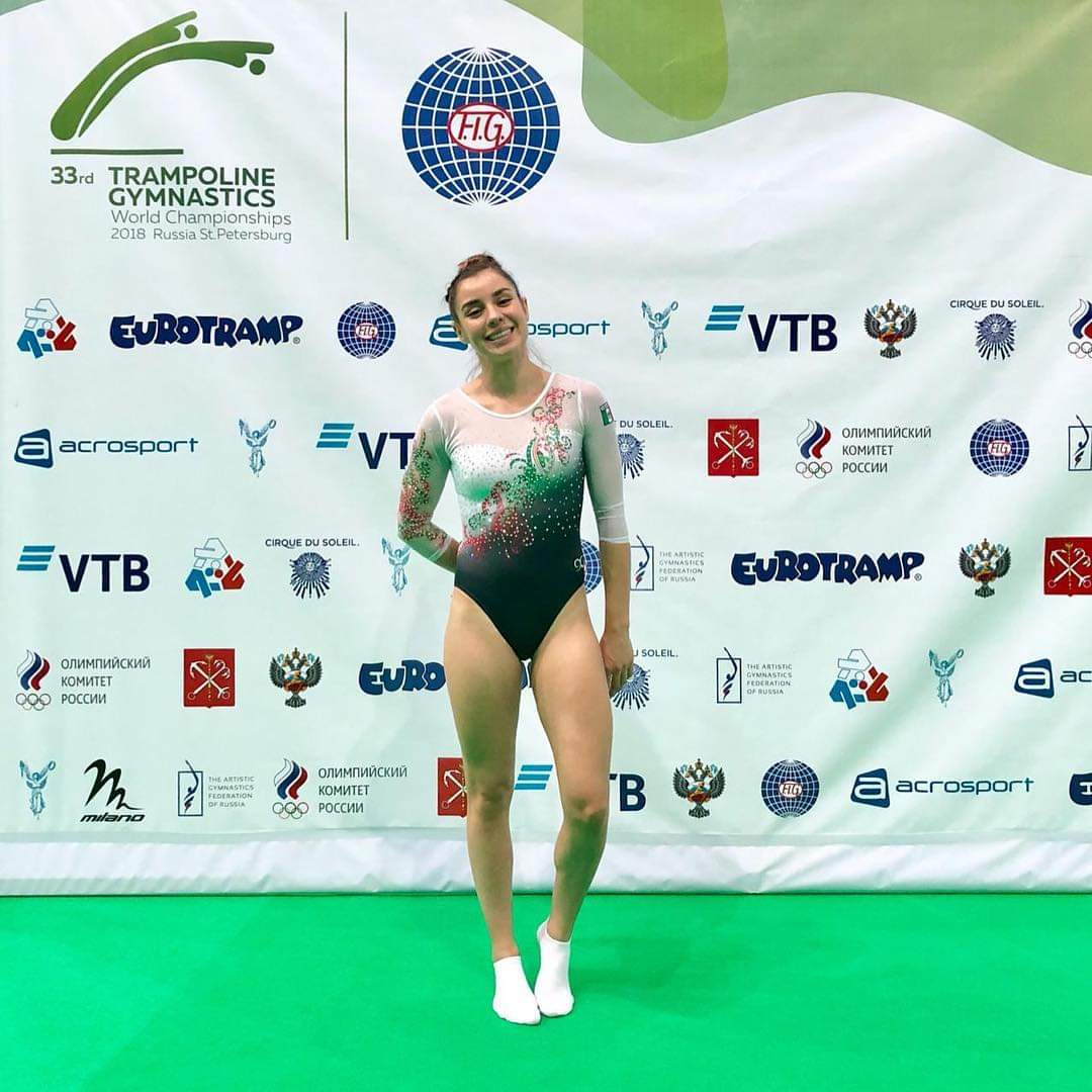 La Final del Mundial de Gimnasia de Trampolín