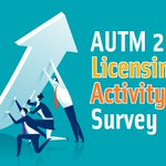 Image for the Tweet beginning: The #AUTM 2017 #Licensing Survey