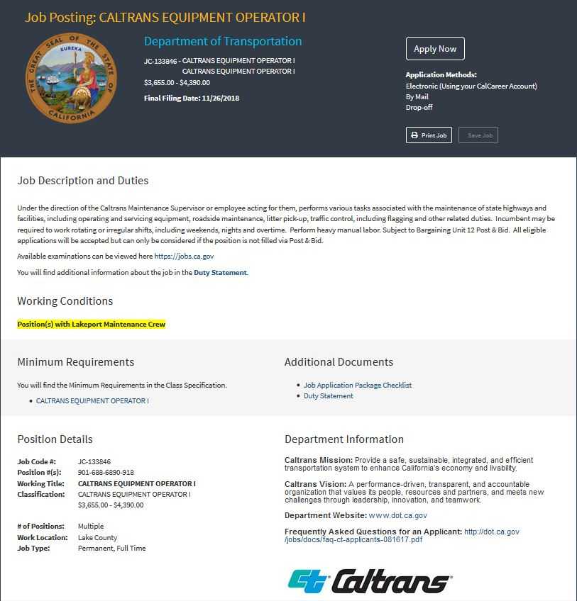 Caltrans District 1 on Twitter: